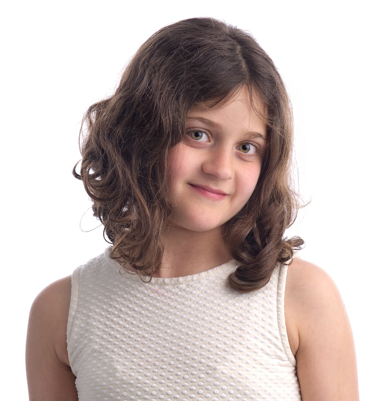 layered haircut for little girls