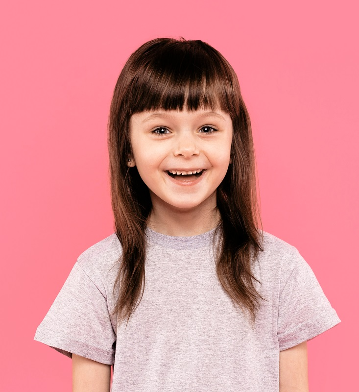 thin layered hair for little girls