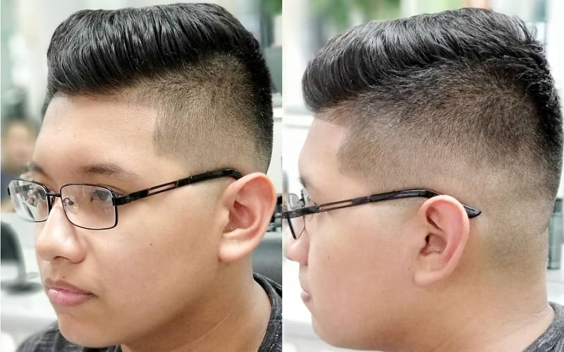 fade haircut for 14 year old boys