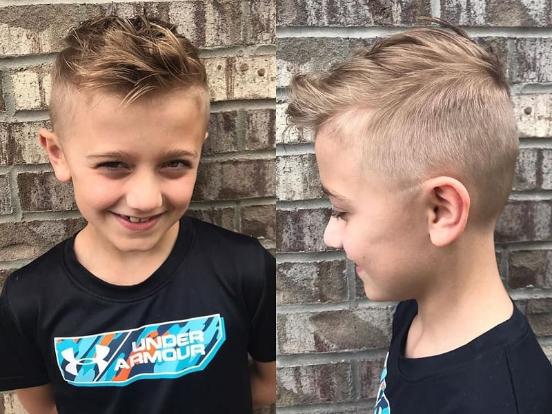 6 year old boy haircut