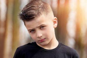 8 year old boy haircut