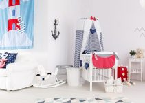 baby boy room ideas blue and white