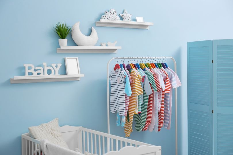 cute baby boy room ideas blue and white