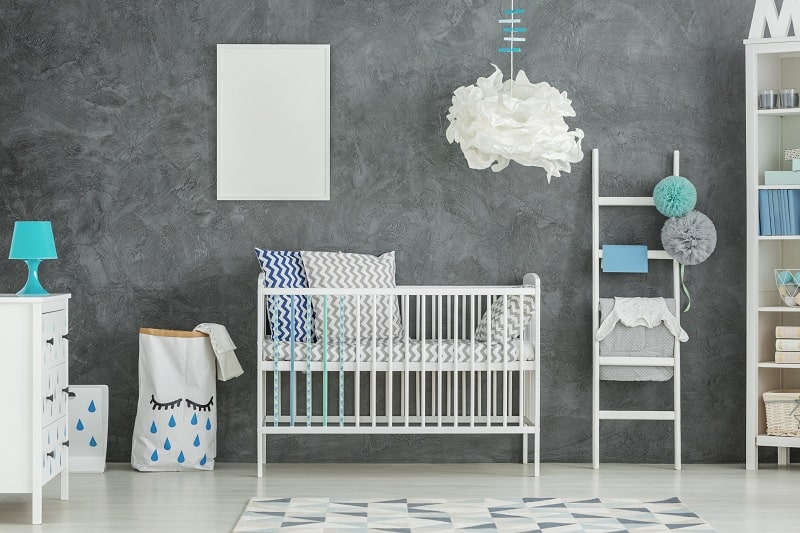 best baby boy room ideas blue and white