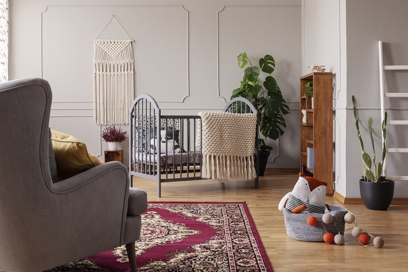 baby boy room design with small spaces