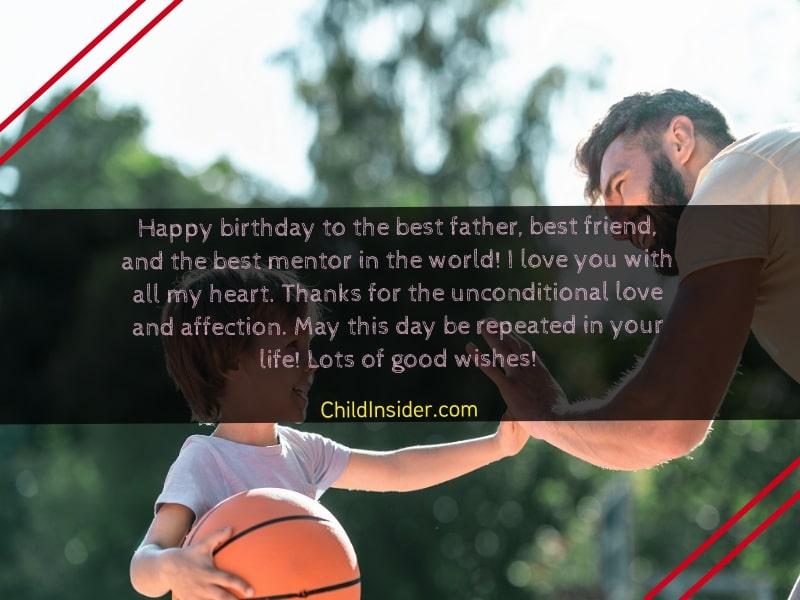 happy birthday father quotes