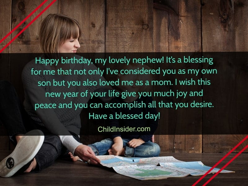 25 Lovely Happy Birthday Wishes for Nephew from Aunt