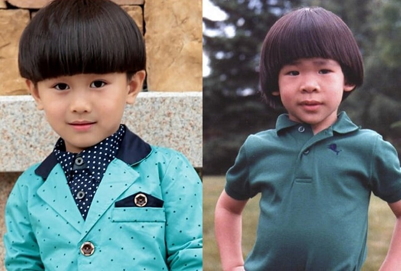 Bowl Cut for Asian Boys
