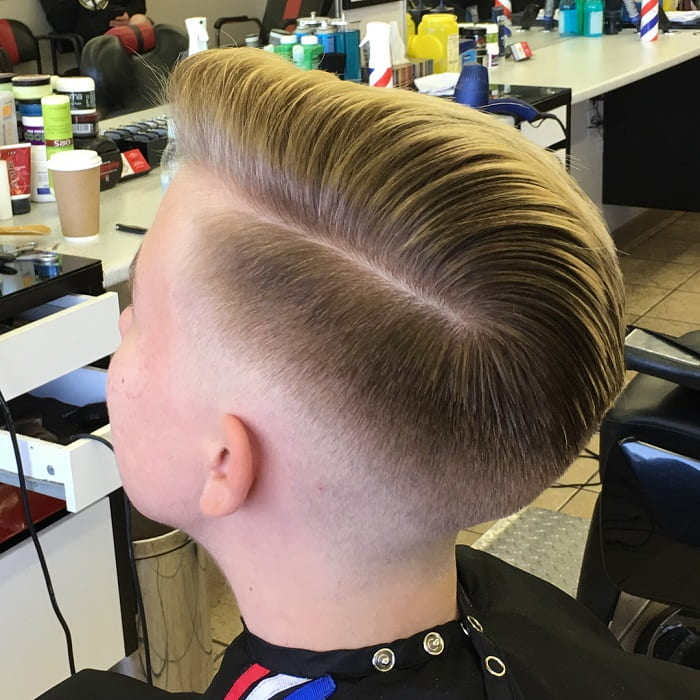 boy's comb over haircut
