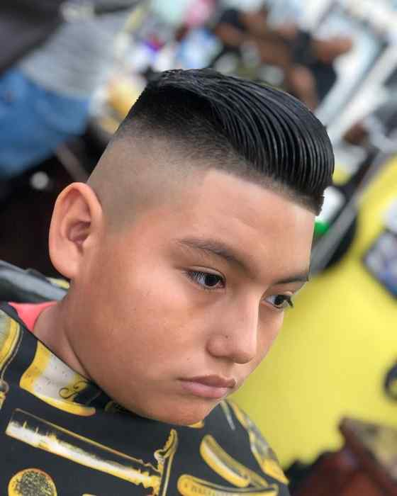 boy's comb over hairstyles