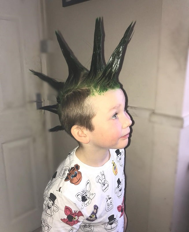 liberty spike style mohawk for boys