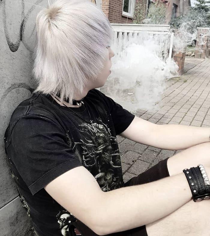 emo hair boy