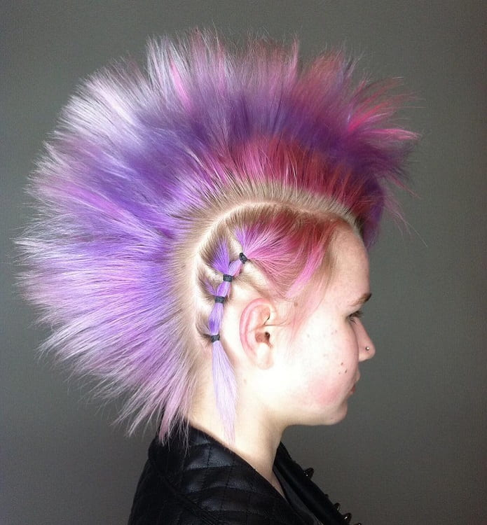 funky mohawk hairstyles for girls