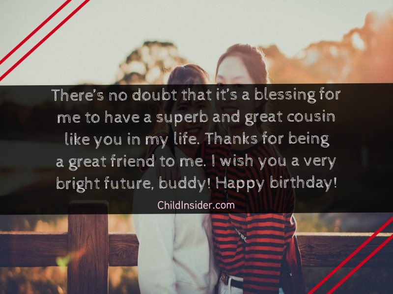 birthday wishes for beautiful cousin