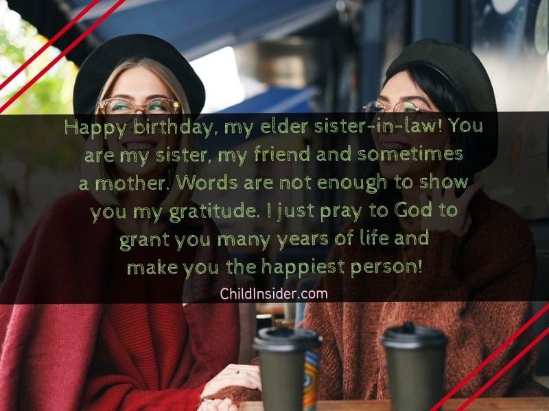 birthday quotes for sister in law