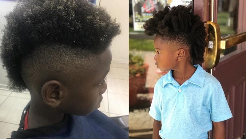 10 Splendid Mohawk Styles For Little Black Boys Child