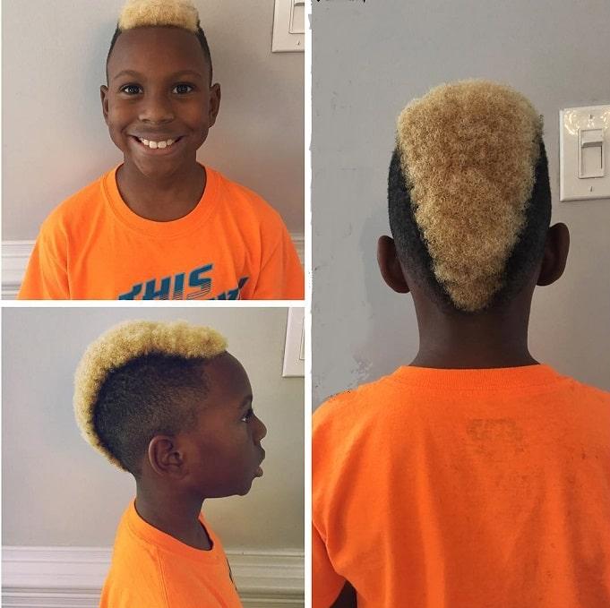 best little black boy mohawk haircuts
