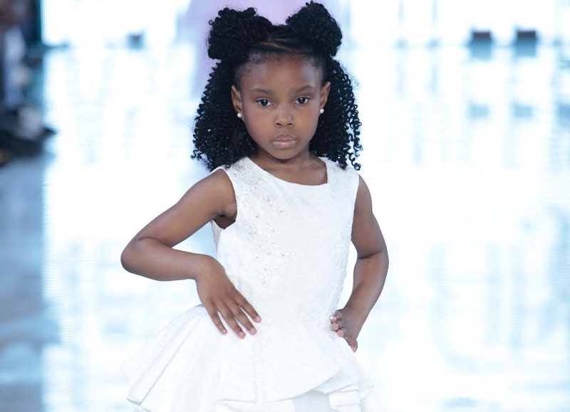 cute little girl's black hairstyles