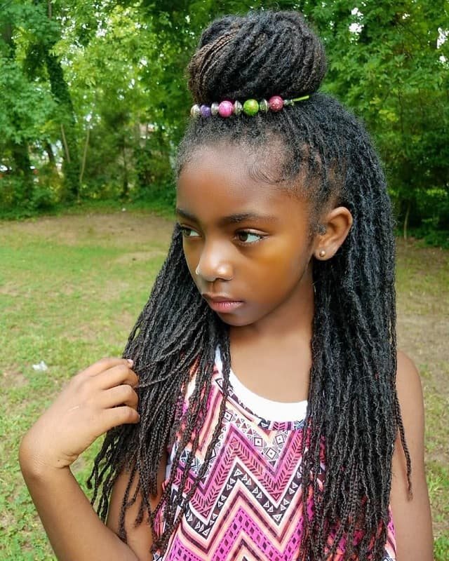 25 of the cutest hairstyles for little black girls  child