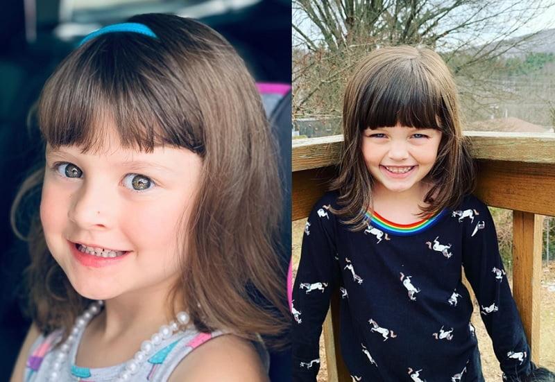 little girl haircuts with bangs