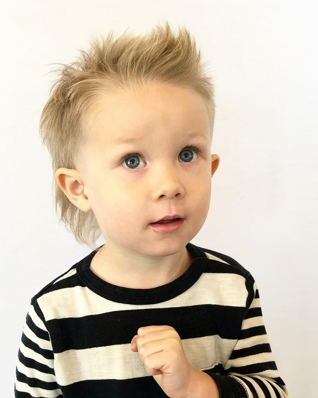 long mullet haircuts for toddler boys