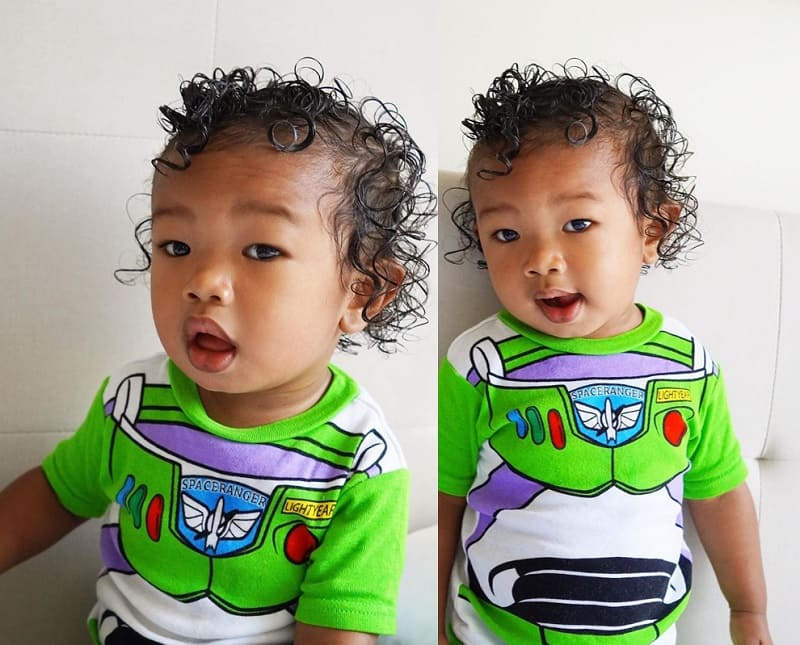 mixed baby curly hairstyles