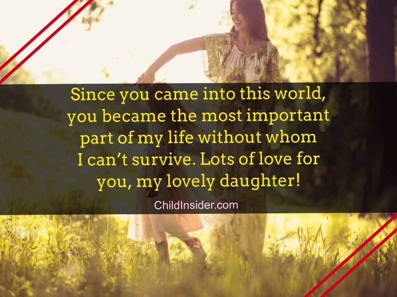 short quotes for daughter