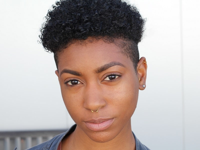 short haircuts for black girls