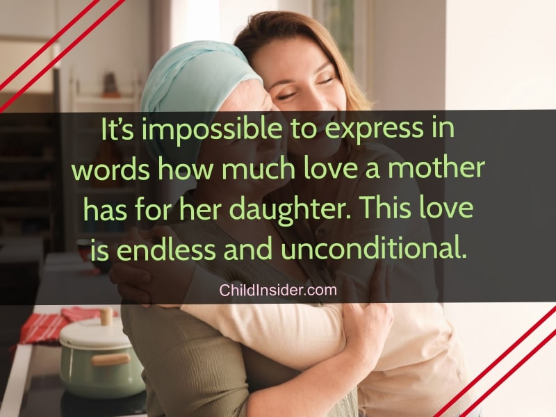 short mother daughter quotes