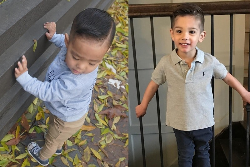 2 year old boy haircuts with hard part