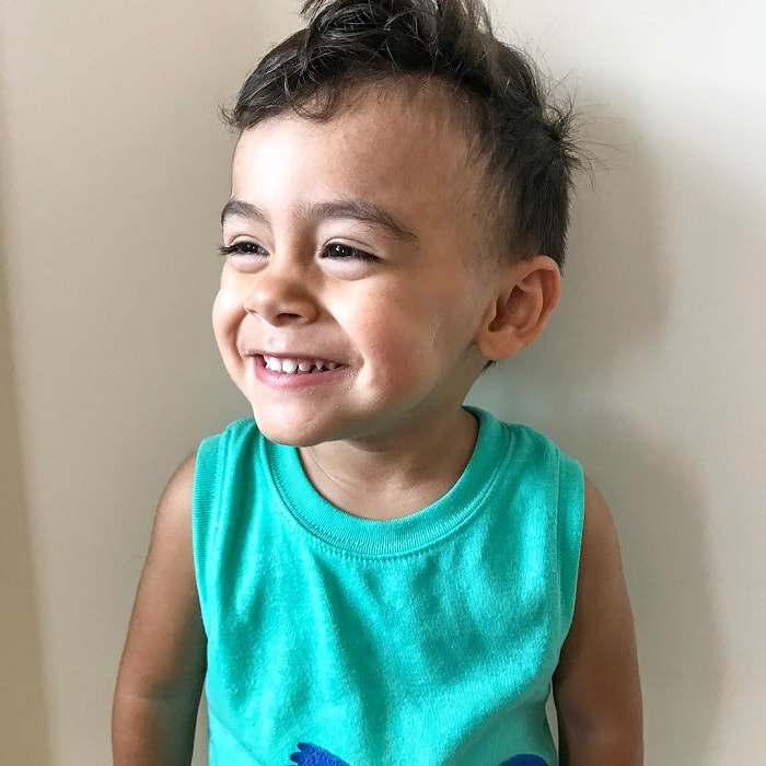 short hairstyles for 2 year old boys