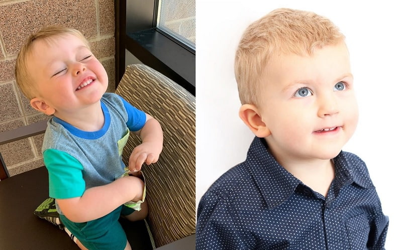 2 year old boy haircuts with short bangs