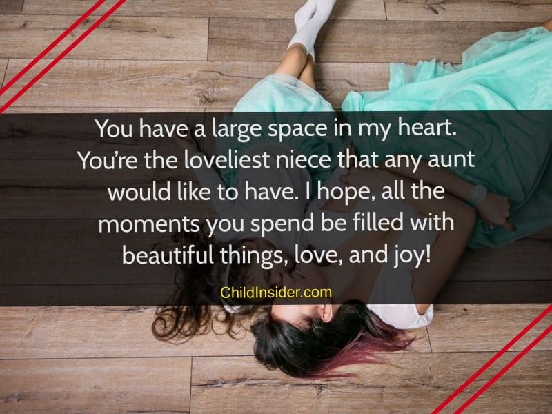 quotes for niece from aunt