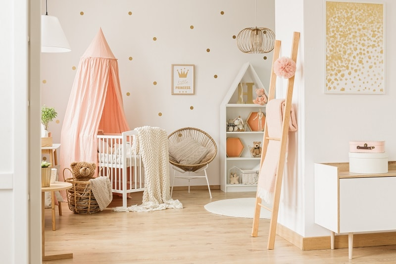 nursery room ideas for baby girl