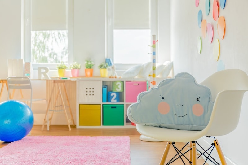cute and funky baby girl nursery room ideas