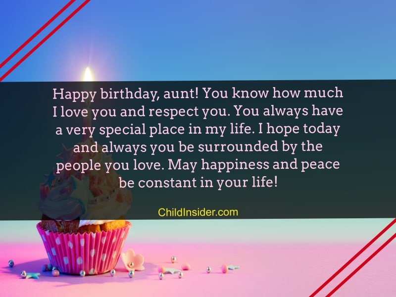 birthday greetings for aunt
