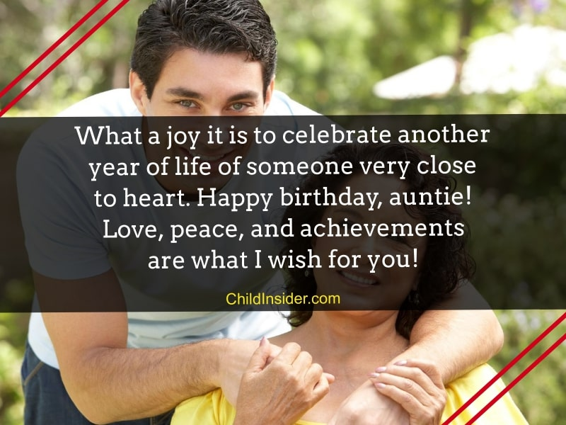 happy birthday quotes for auntie