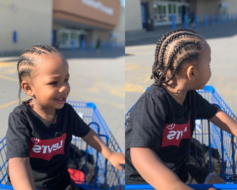 20 Cute And Unique Hairstyles For Black Baby Boys 2019