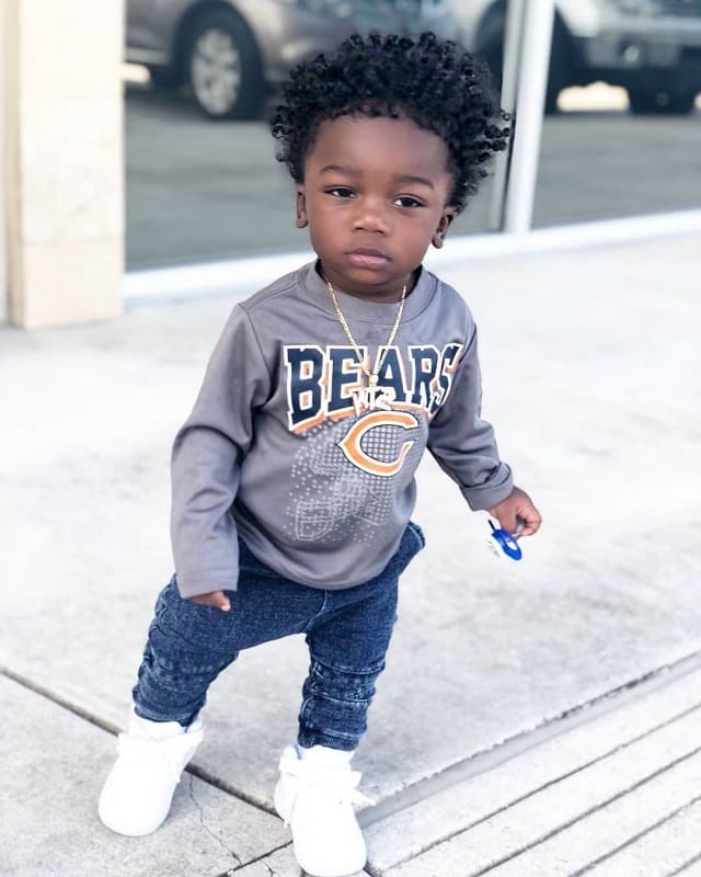 short sides long top hairstyles for black baby boy