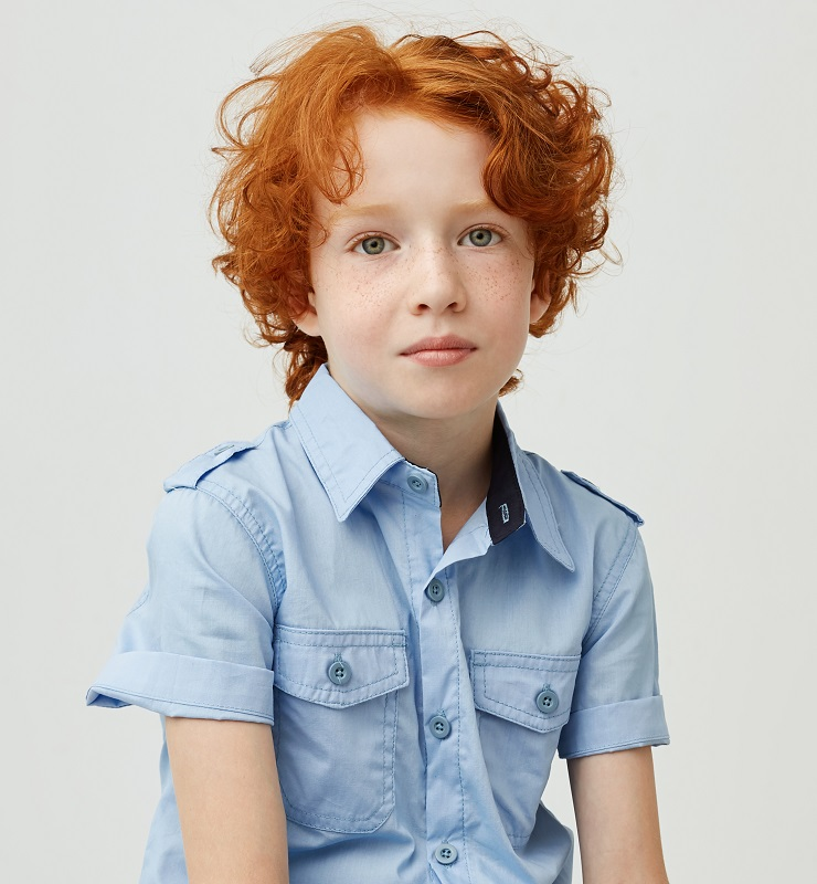 boy's 8 year old hairstyle