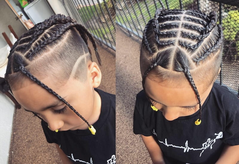 boy braid hairstyles