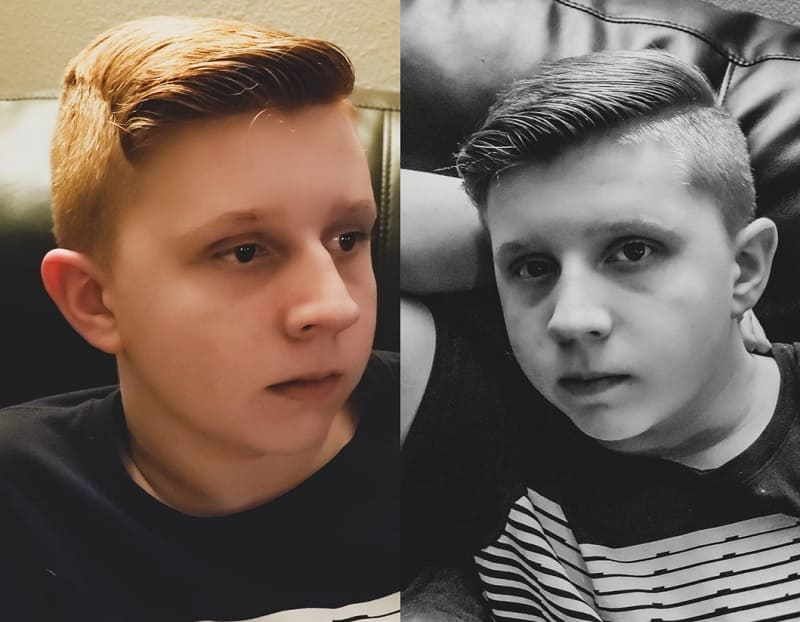 long top with short sides haircut for boys