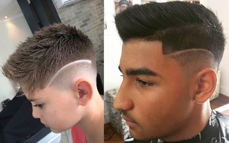 boys short haircuts with medium fade