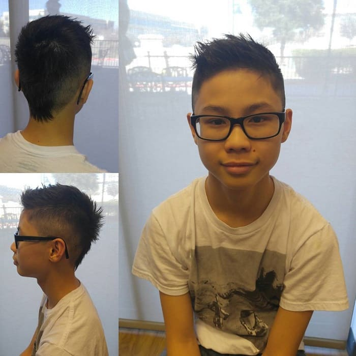 short fauxhawk haircuts for boys