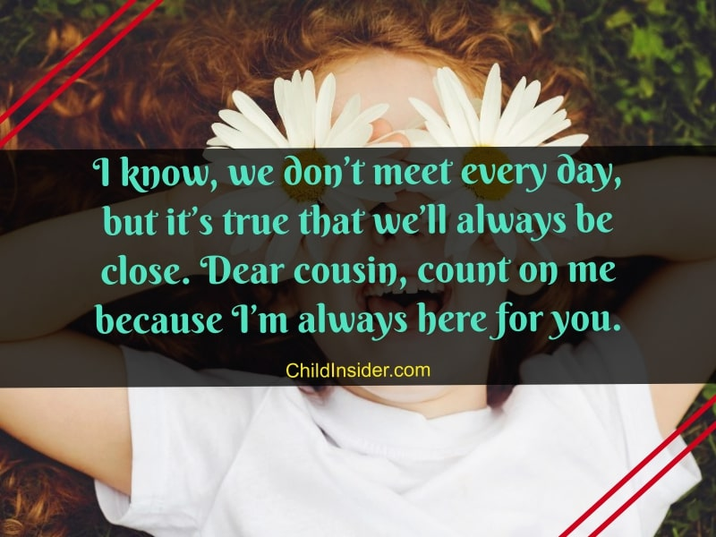 beautiful quotes about cousin