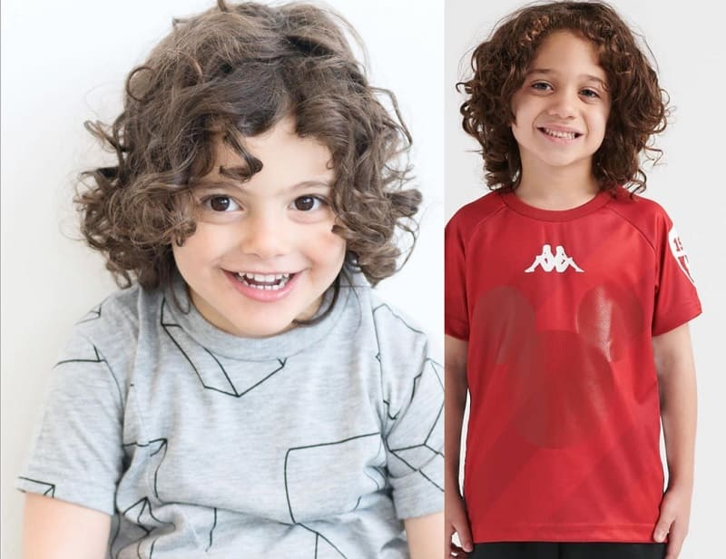 shoulder length curly hairstyles for boys