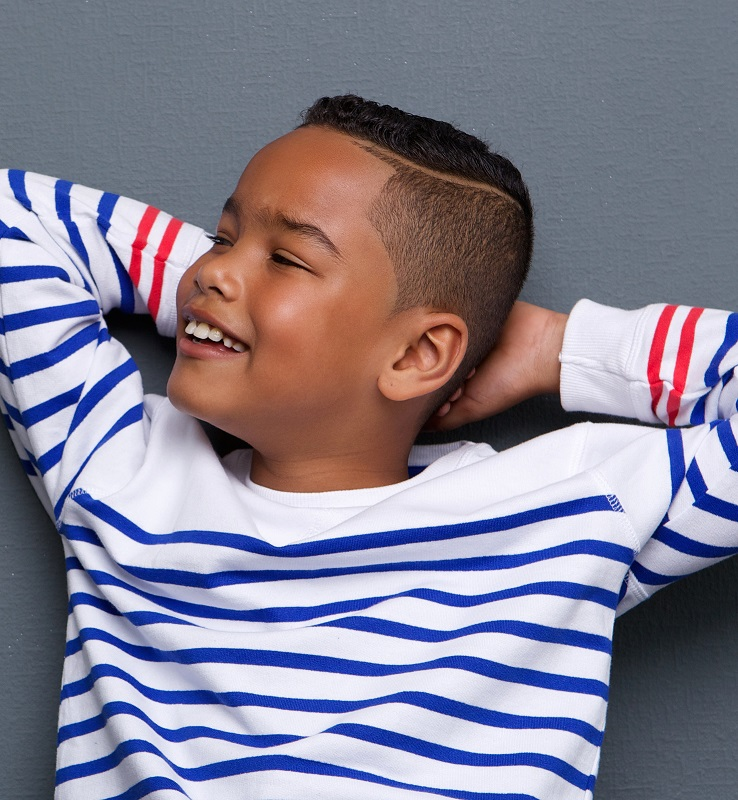 hairstyle for 8 year old black boys