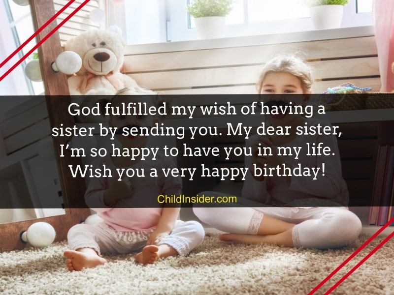 birthday quotes for baby sister
