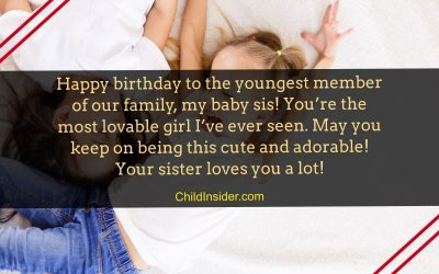 happy birthday baby sister