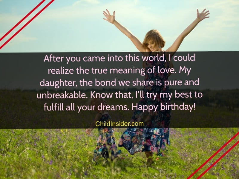 birthday quotes from mom for daughter